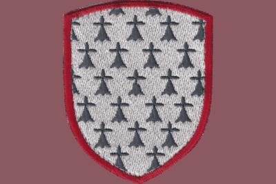 Ecusson Blason de la Bretagne brodé