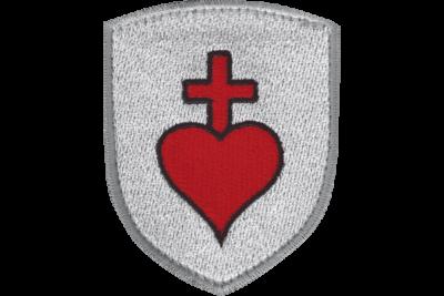 Blason Ecusson du Sacré Coeur de Jésus