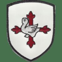 Blason Croix amalric Retro reflechissant