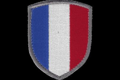 Blason Drapeau France bordé
