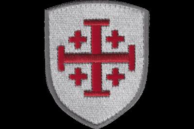 blason croix de jerusalem