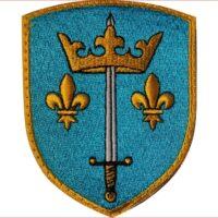 Blason patch écusson armoiries de jeanne d'arc