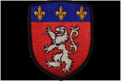 Blason Ecusson de Lyon brodé