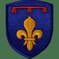 Blason Provence sous l'ancien régime brodé