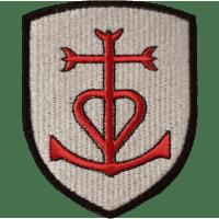 Blason Patch Croix de la Camargue