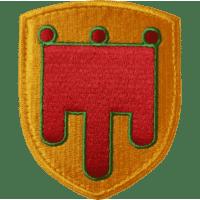 Ecusson de l'Auvergne brodé