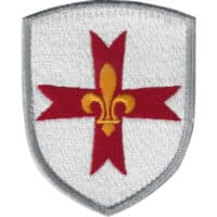 Blason patch écusson Croix Scout d'Europe
