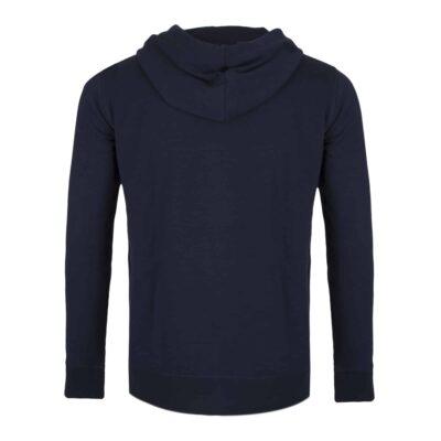 Sweatshirt coton Galaad dos pour blason brodé amalric
