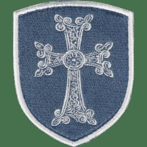 Croix Arménienne khatchkar brodée