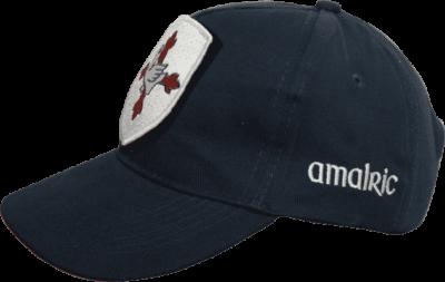 Casquette Amalric pour blason brodés amovibles