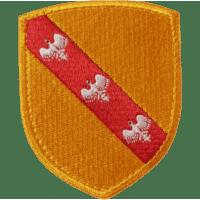 Ecusson du Duché de Lorraine brodé