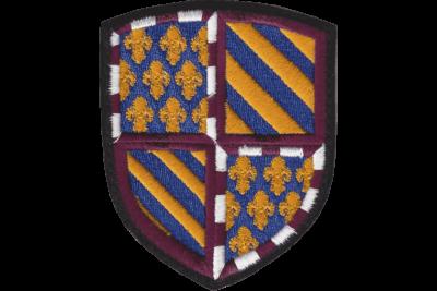 Blason Bourgogne brodé