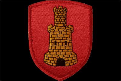 Patch Blason de la ville de Rouen brodé