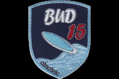 Blason brodé Bud15 Surf beach La tranche sur Mer