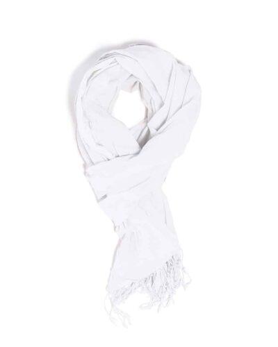 Cheche blanc coton bio poplin amalric