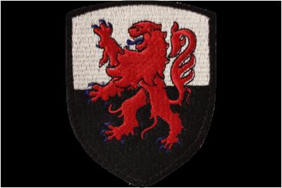 Patch blason du Poitou Charente Brodé